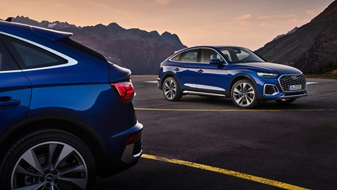 The new profile of the Q5 Sportback
