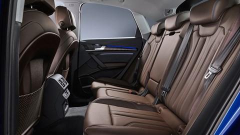 Q5 Sportback rear seats