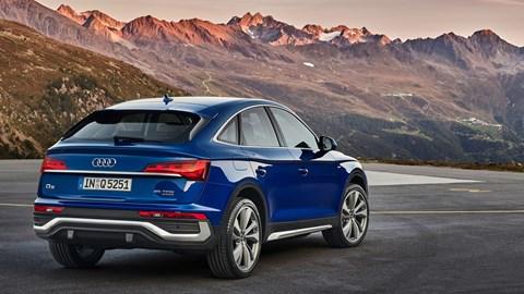 Audi Q5 Sportback rear lights