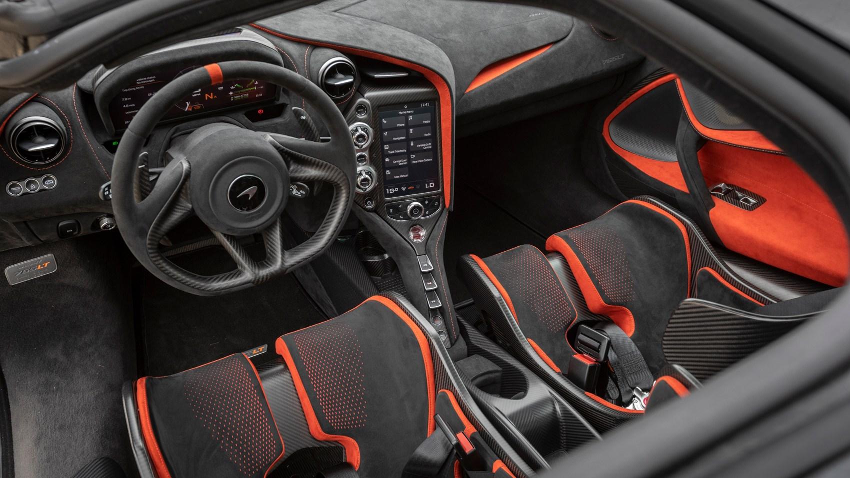 765LT interior