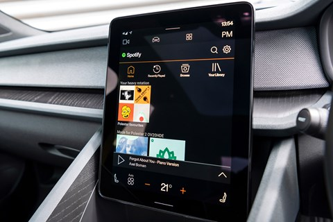 Android Automotive OS home