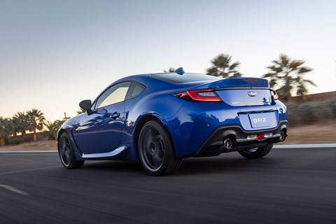 brz rear tracking