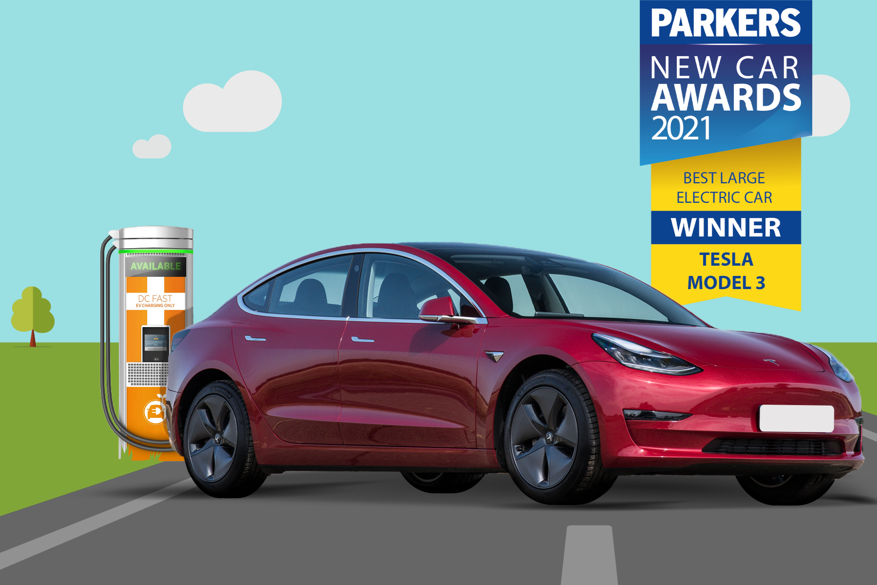 Best Large Electric Car Shortlisted In Parkers New Car Awards 2021 Car Magazine