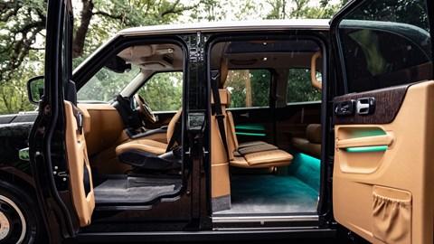 Clive Sutton LEVC TX - interior