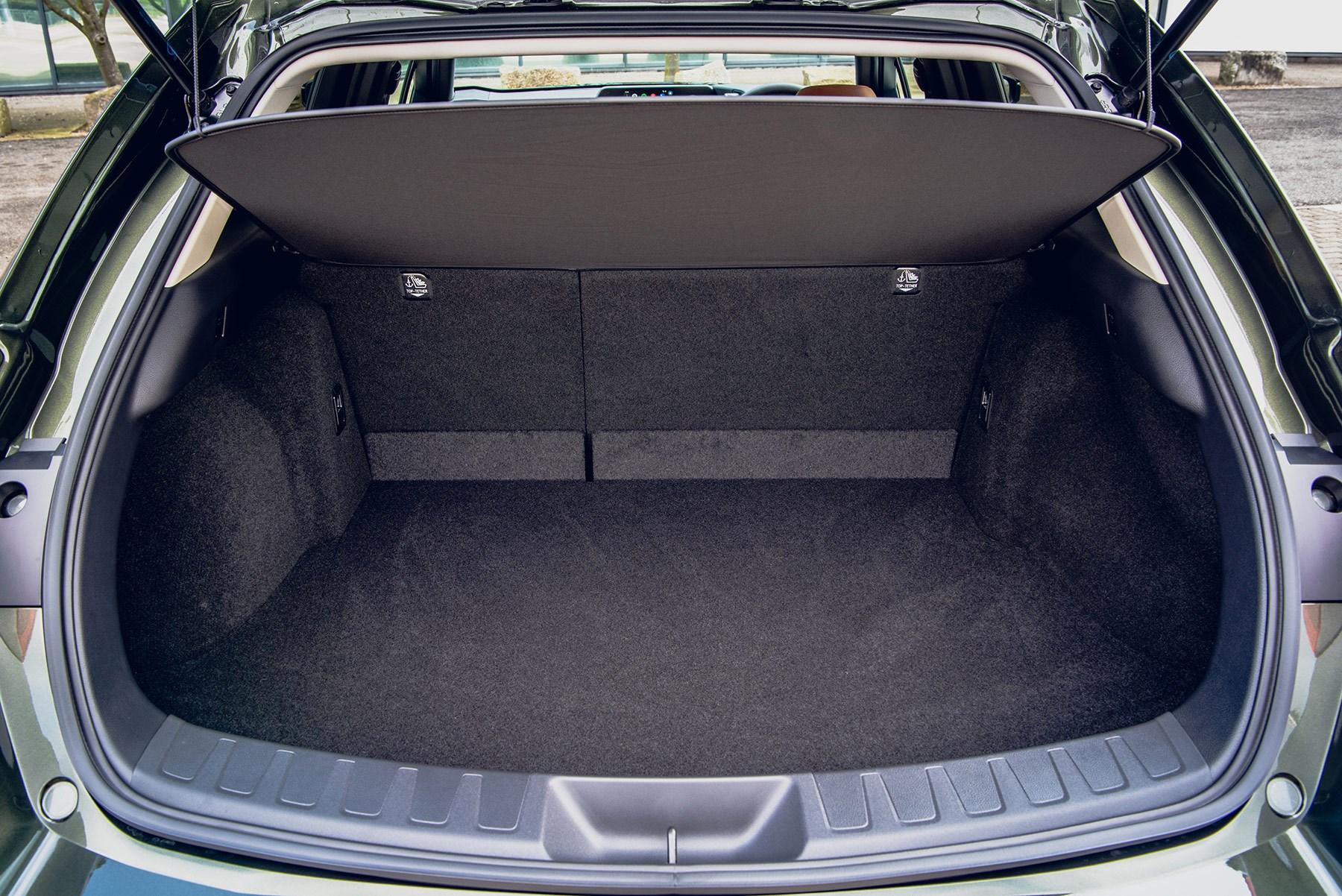 Lexus UX 300e boot: 367 litres of space