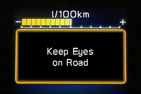 Subaru DMS eyes on road