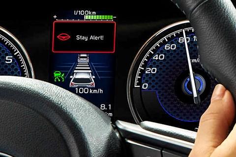Subaru DMS alert