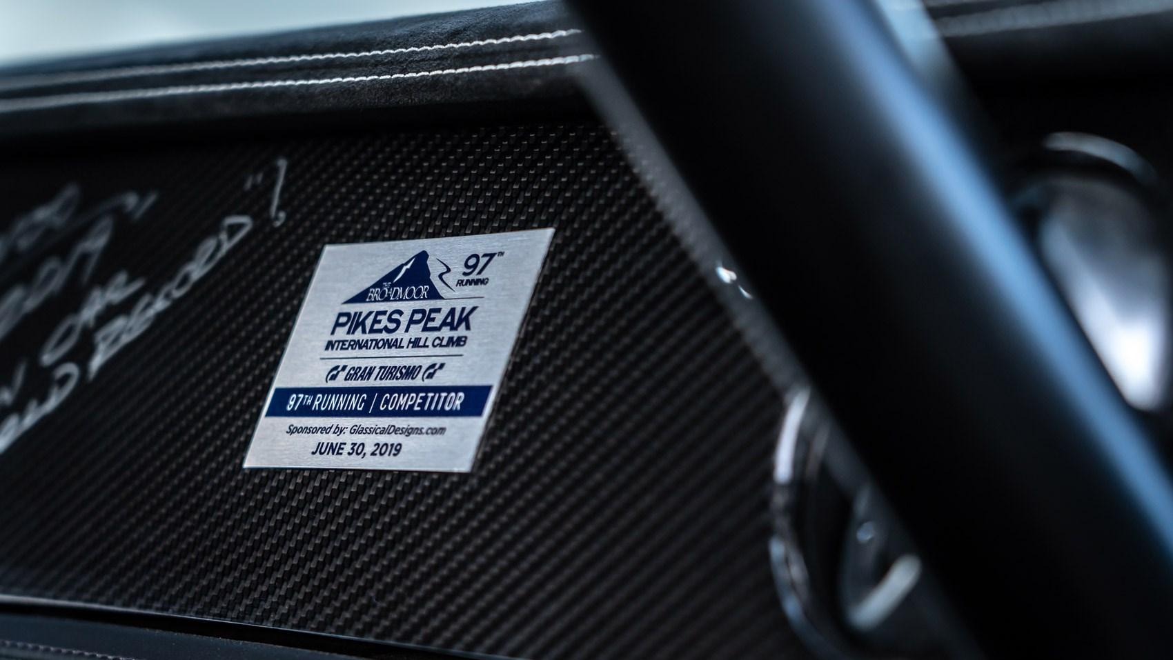 Conti Pikes Peak plaque