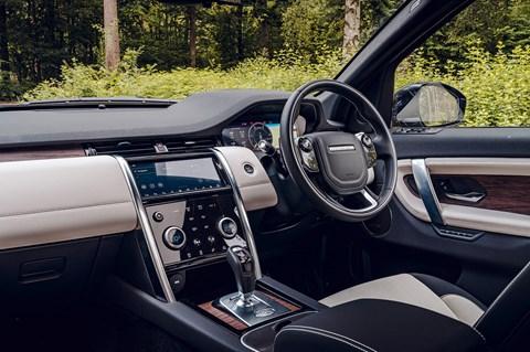Discovery Sport interior