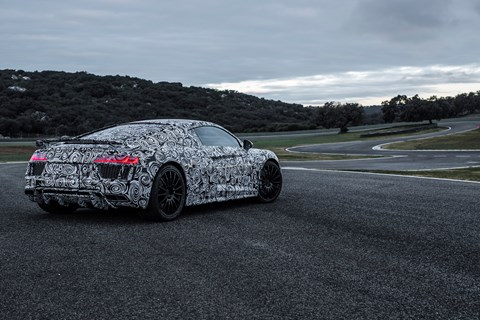Audi R8 V10+ represents a serious step up the performance ladder