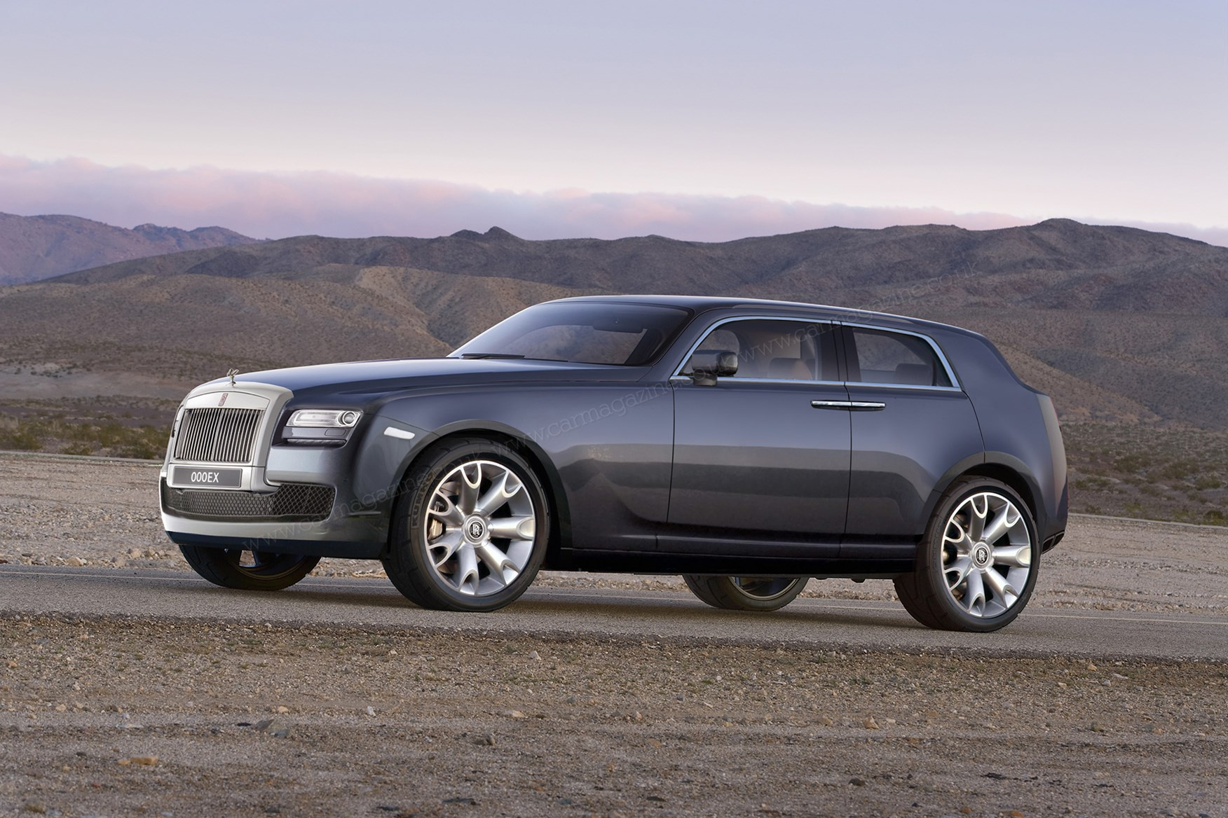 posh roader rolls royce confirms suv    car magazine