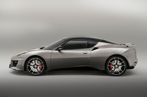 The new Lotus Evora 400. Tipped to cost nearly £70k