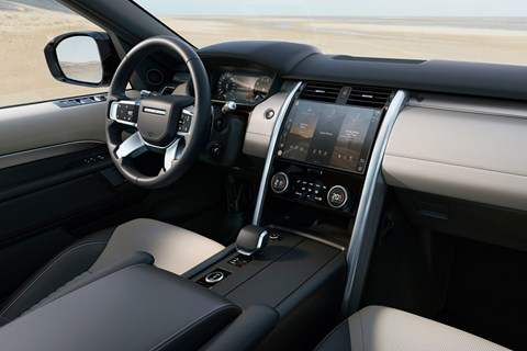 Discovery 2020 interior