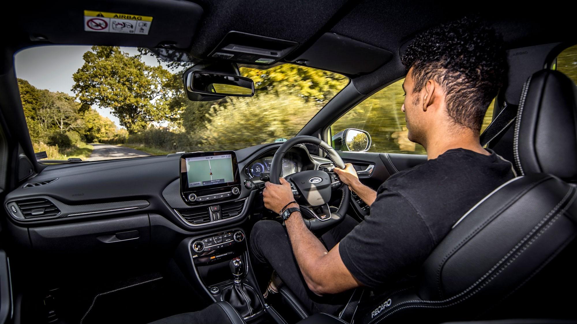 Puma ST curtis driving