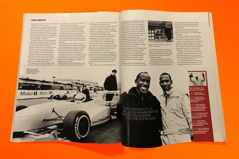 We spent the day with Lewis and Anthony Hamilton at Brands Hatch as part of a feature on the up-and-coming talent