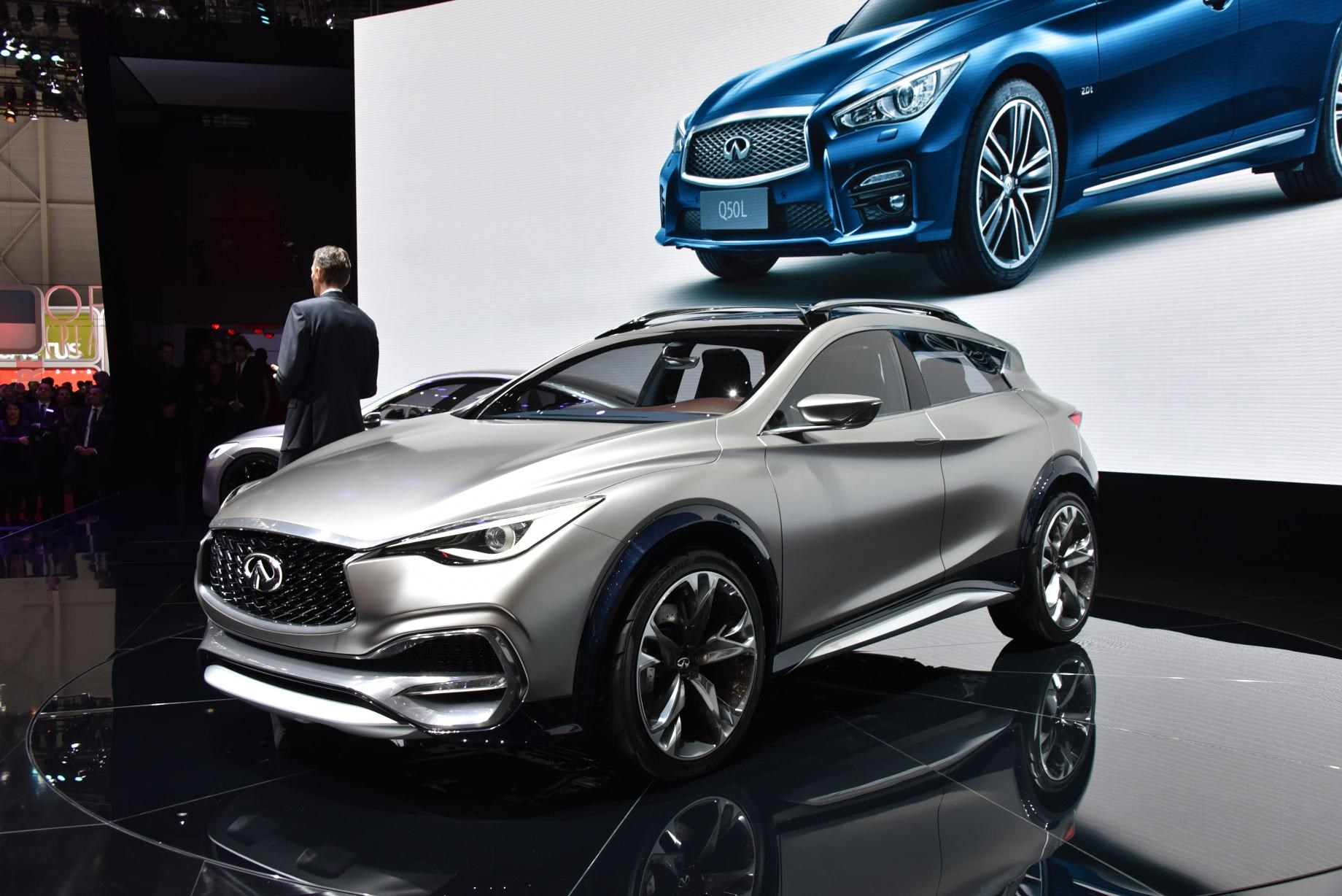 Infiniti Qx30 At The 2017 Geneva Motor Show
