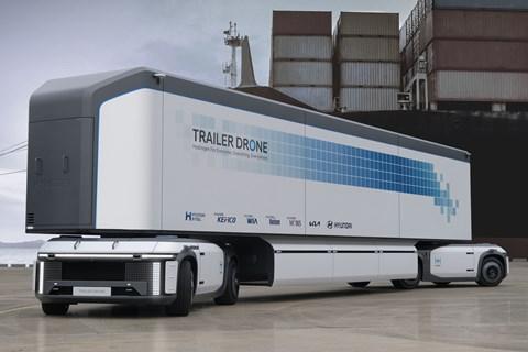 hyundai trailer drone