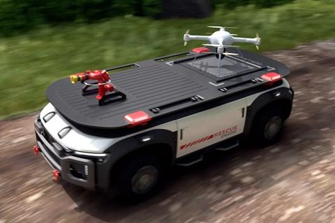hyundai rescue drone