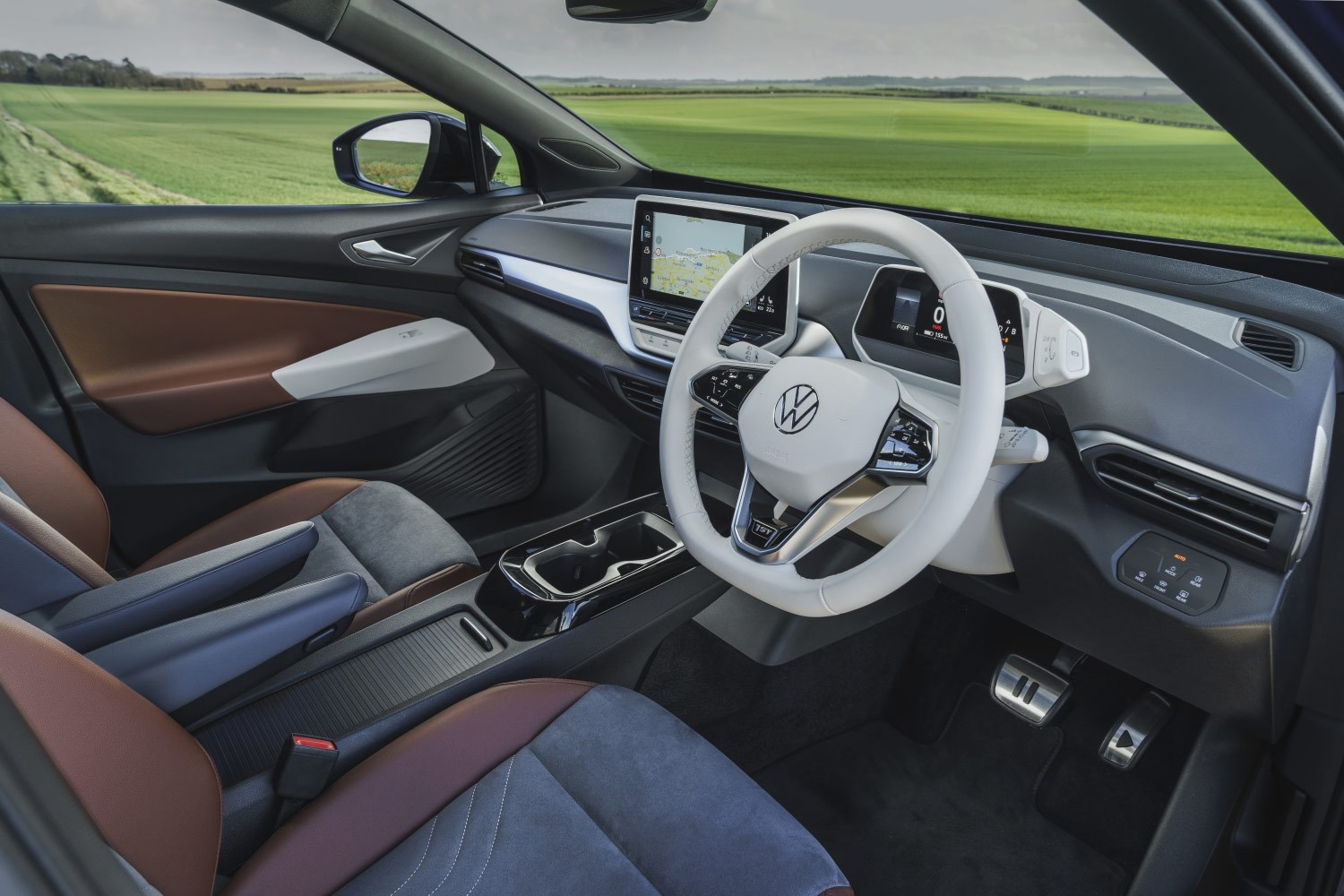 Volkswagen ID.4 interior and cabin
