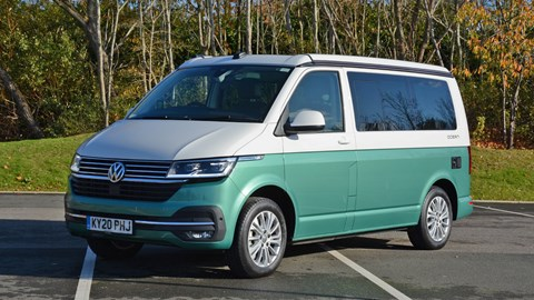 2020 Volkswagen California front three quarter