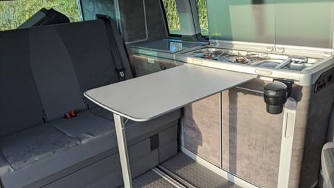 2020 Volkswagen California kitchen