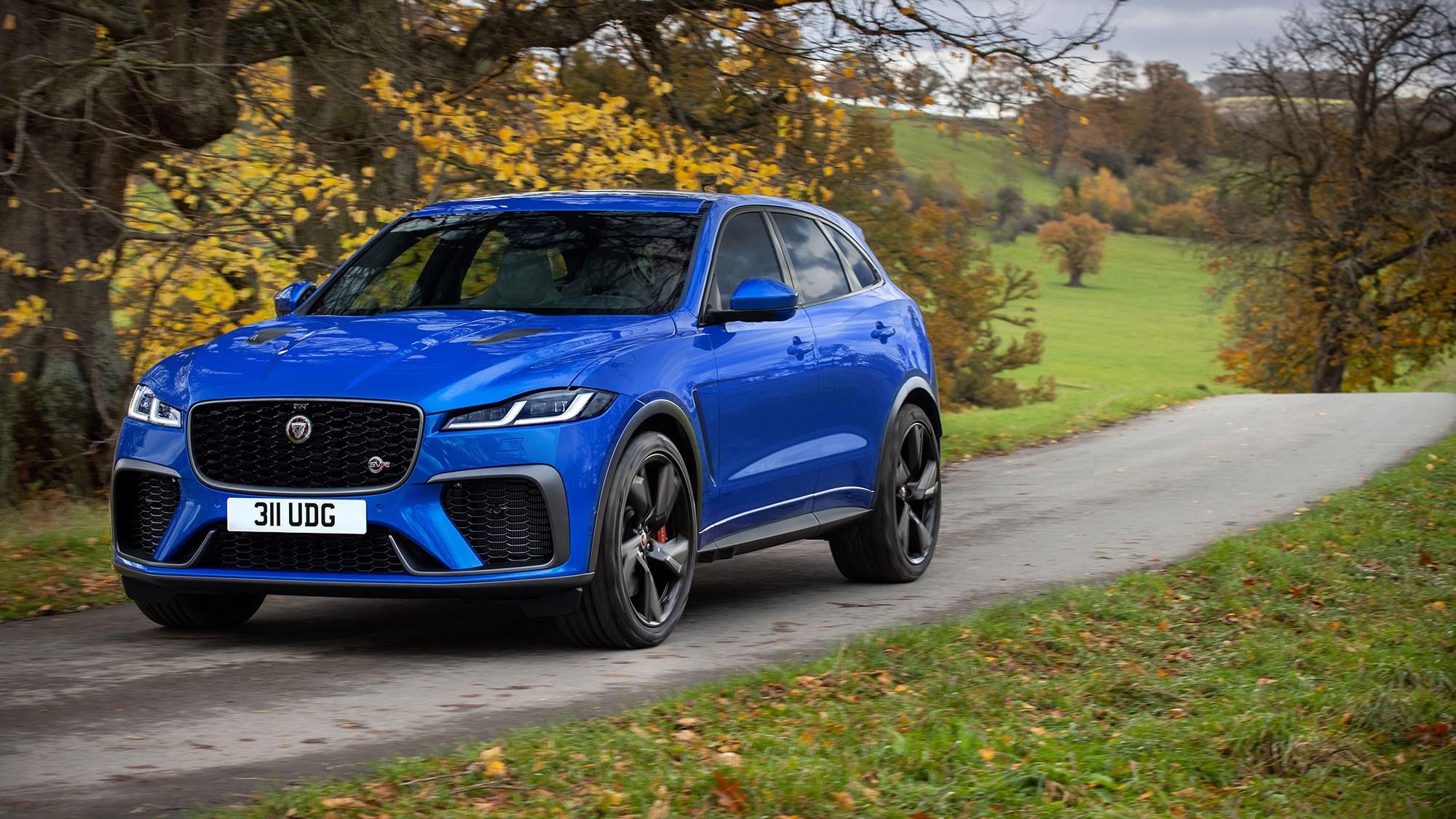 Jaguar F-Pace SVR: tweaked for 2021