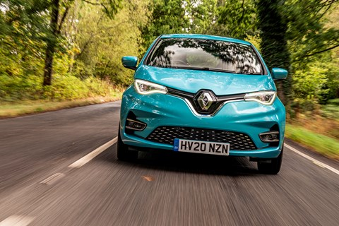 Renault Zoe LTT front tracking