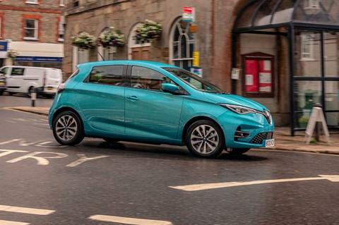 Renault Zoe LTT cornering