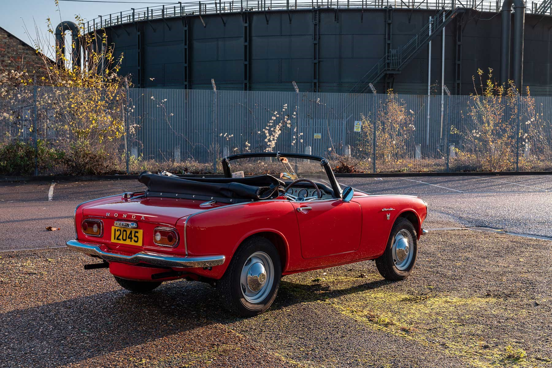 1967 Honda S800 photographed by Alex Tapley for CAR magazine