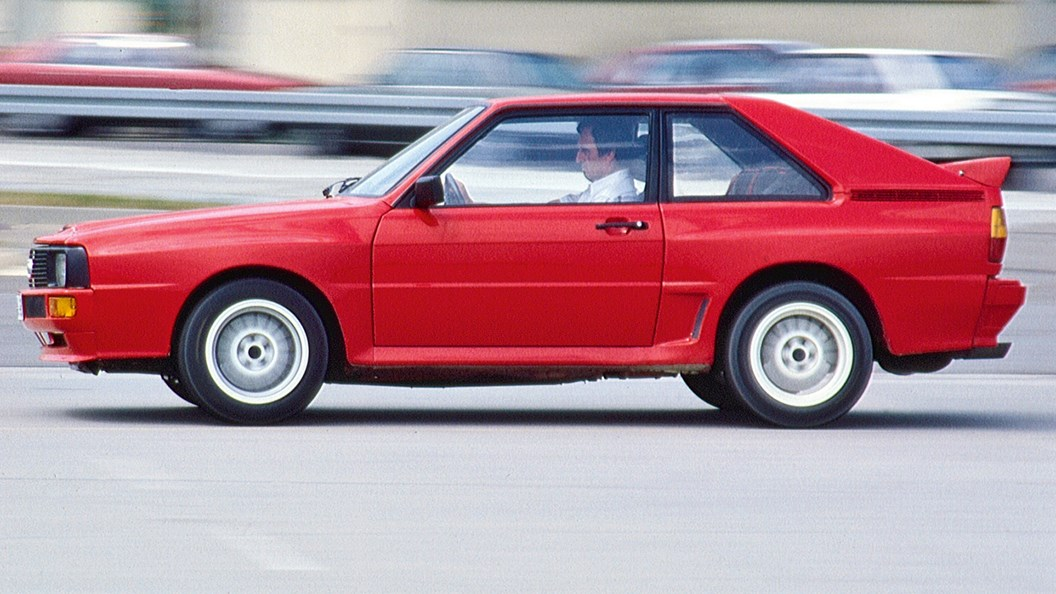 Audi Sport Quattro (1986) driving