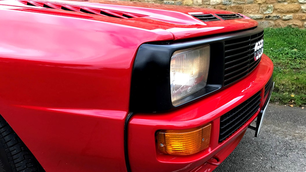 Audi Sport Quattro (1986) air intakes