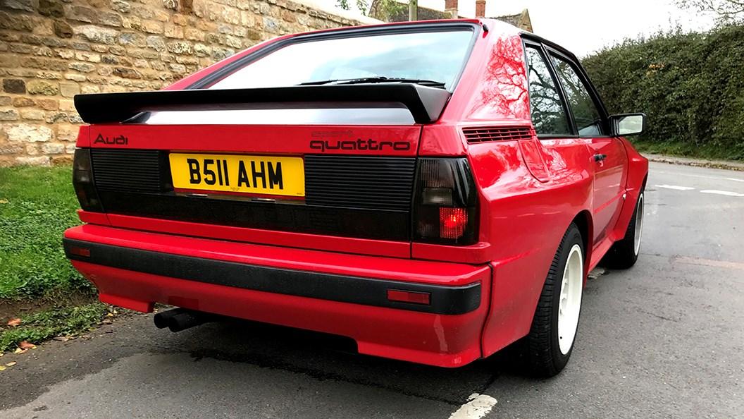 Audi Sport Quattro (1986) rear view
