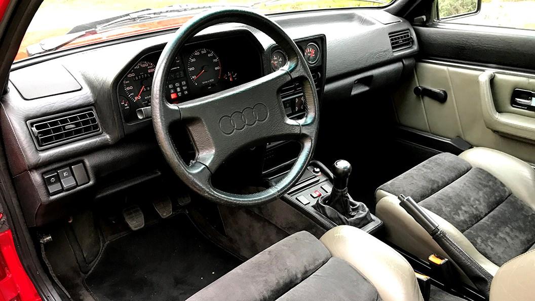 Audi Sport Quattro (1986) interior