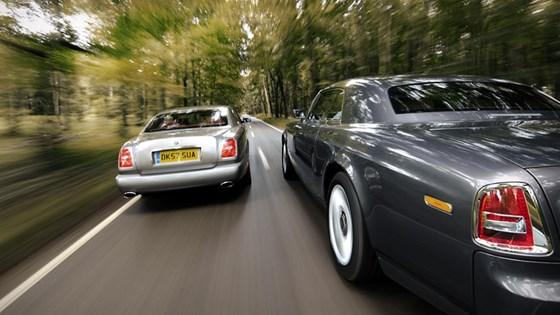 rolls phantom coupe vs bentley brooklands | car magazine