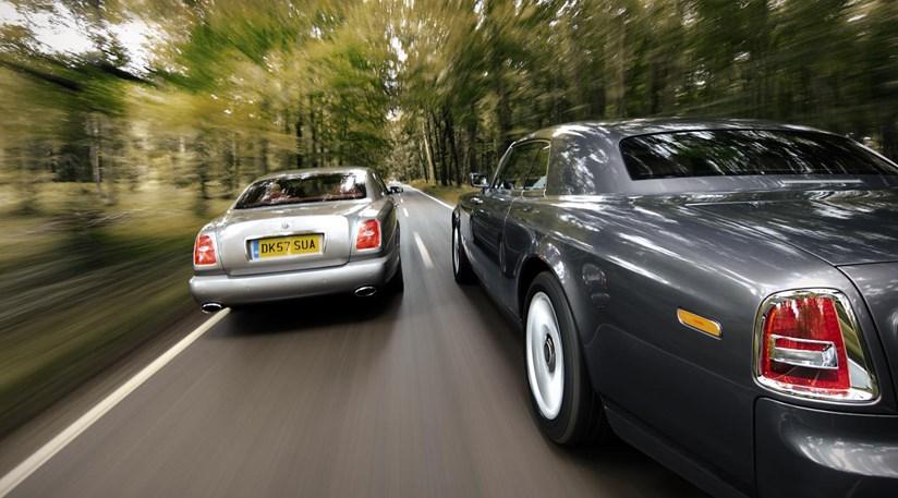 Rolls Phantom Coupe Vs Bentley Brooklands By Car Magazine