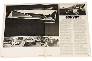 Convoy! CAR's seminal drive story appeared in our February 1977 issue. We drove a trio of Lamborghinis – the Countach, Silhouette and Urraco – from Sant'Agata to London