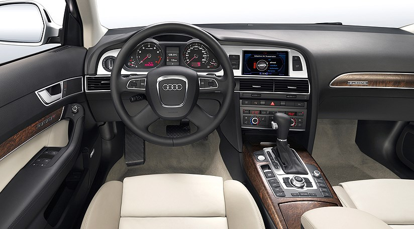 audi a6 facelift 2008 first official pictures by car magazine. Black Bedroom Furniture Sets. Home Design Ideas