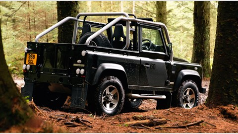 Land Rover Defender SVX 90 soft-top (2008) review | CAR ...