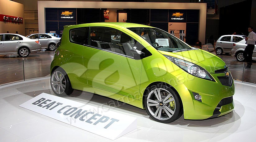 Chevrolet Beat (2010): spy photos | Secret New Cars | Car Magazine Online
