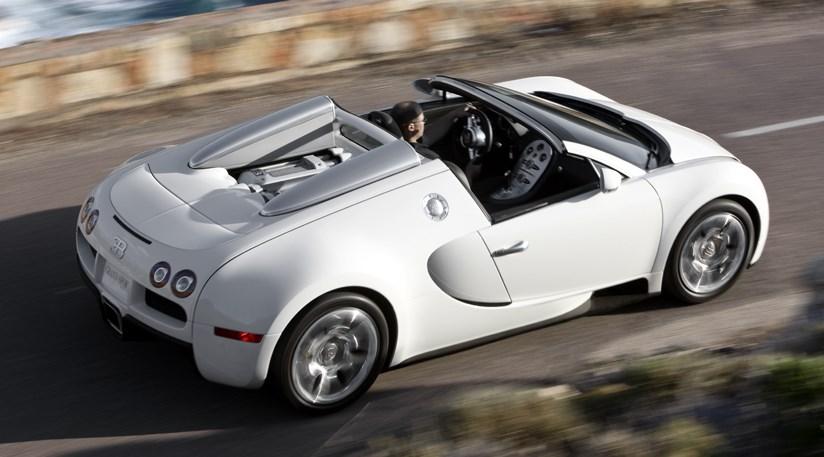 2009 Bugatti Veyron Grand Sport Pictures