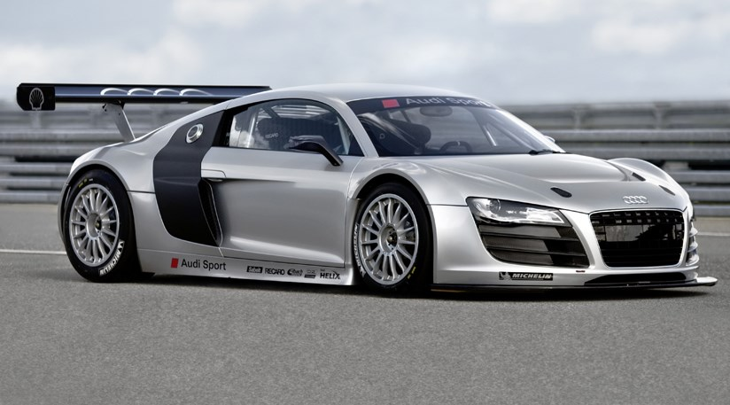 Audi r8 gt3 2008 first official pictures car magazine publicscrutiny Images