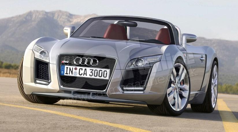 New Audi Sports Car