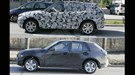 BMW X1 and X2 prototypes have been spotted around Munich. Notice how they occupy identical footprints – but with different windowlines