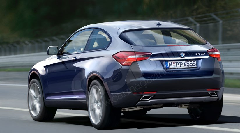 Bmw X2 Scoop Bmw S New Baby Suv 2009 By Car Magazine