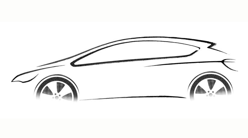 Vauxhall Astra (2009): the first sketches by CAR Magazine