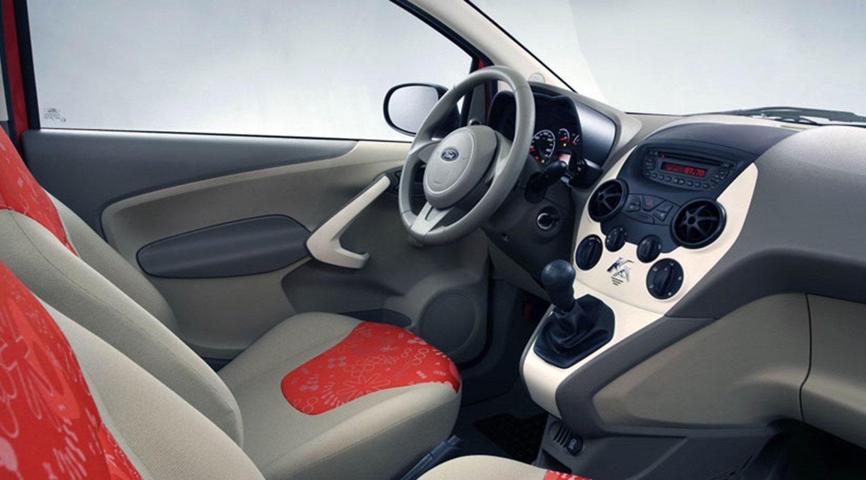 Ford Ka Interior Blue Oval Design Chief Martin Smith Says It Has The Kinetic Design Language Of The Exterior