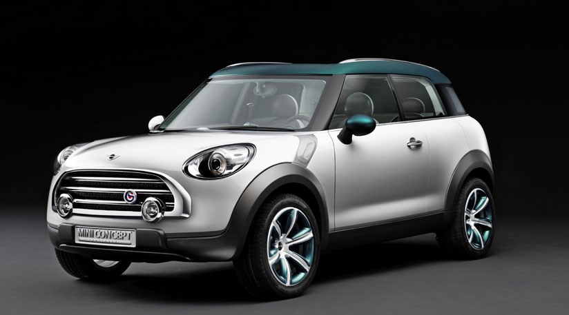 The Face Of New Mini Crossover Concept Hints At What S To Come For Future Minis Check Out That Grille And Those Swept Back Lights