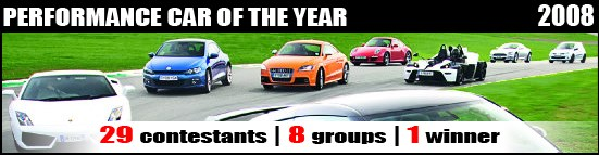 Performance car of the year 2008