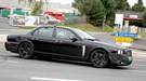 Jaguar XJ (2010) Scooped! Nose camouflage hides new air intake and grille for range of new engines