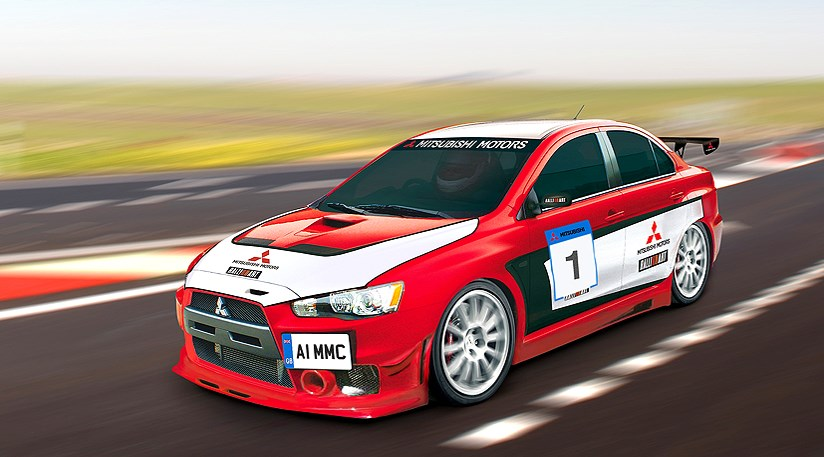 mitsubishi takes its evo x racing by car magazine. Black Bedroom Furniture Sets. Home Design Ideas